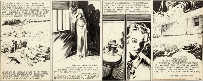 Originalet till strippen från 26 februari 1939. ©KFS