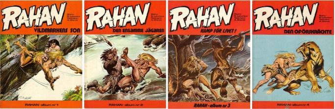 Rahan fick egna seriealbum på.svenska. ©Hemmets Journal
