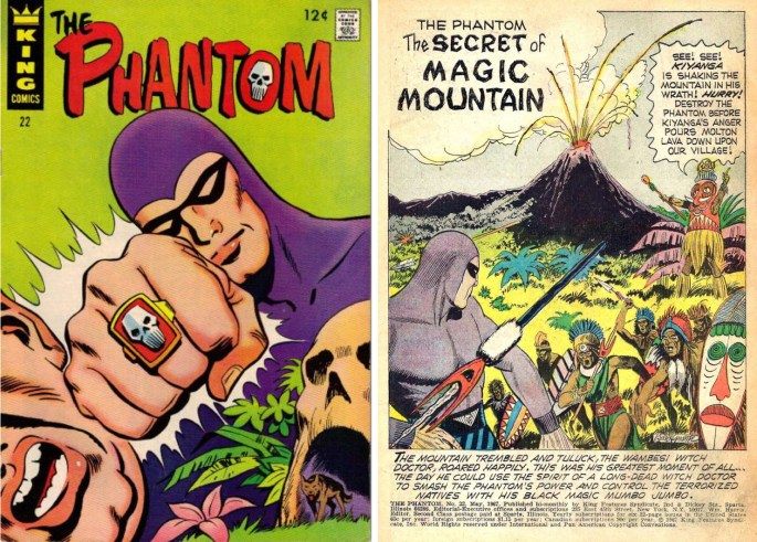 The Phantom #22 med The Secret of Magic Mountain. ©KFS