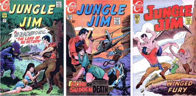 Jungle Jim #23, #26 och #27
