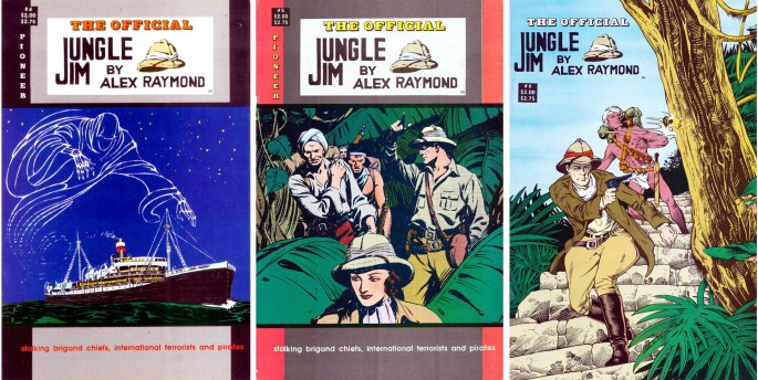 The Official Jungle Jim #4, #5 och #6 från ©Pioneer