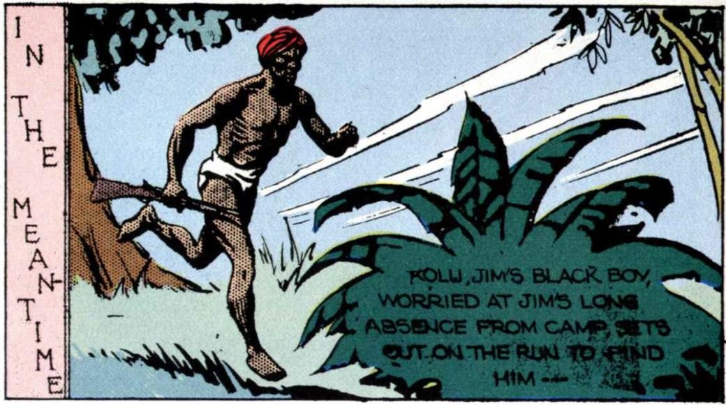Kolu dyker upp redan i den femte söndagsstrippen den 4 februari 1934