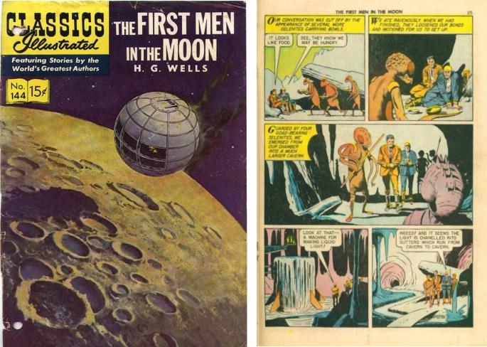 Williamson tecknade för Classics Illustrated.