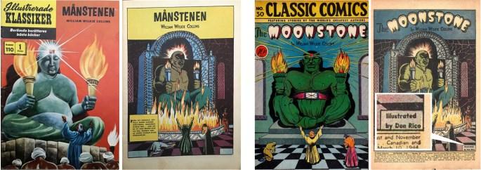 Illustrerade Klassiker nr 110 har en serie av Don Rico. Värt att notera är att serien är signerad i originalet (t.h.). ©IK/Gilberton