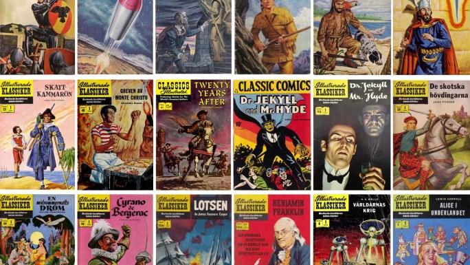 Rogers Seriemagasin: Vem tecknade Illustrerade klassiker?
