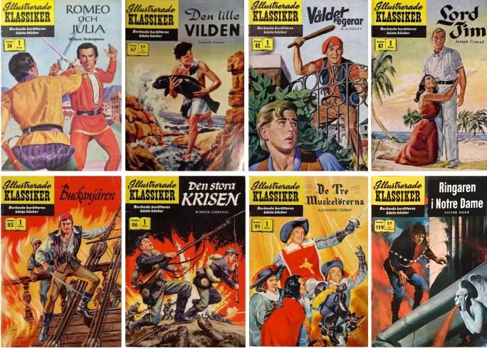 George Evans tecknade många av serierna som blev publicerade i Illustrerade klassiker.