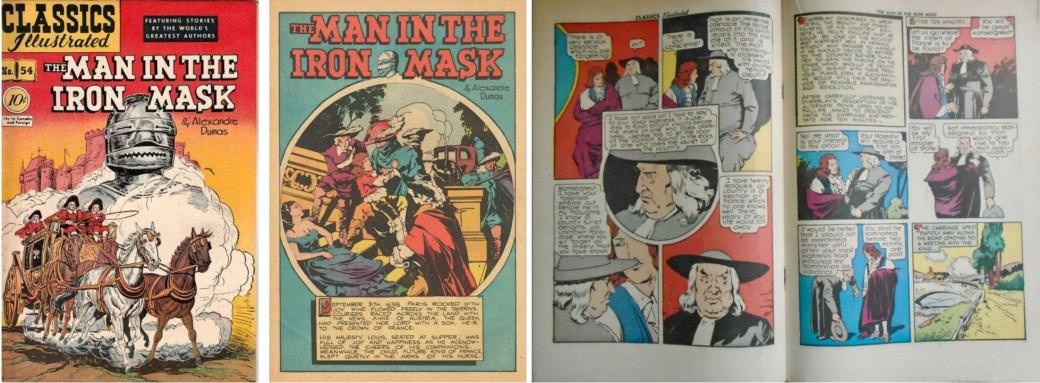 Classics Illustrated #54 från 1948. ©Gilberton