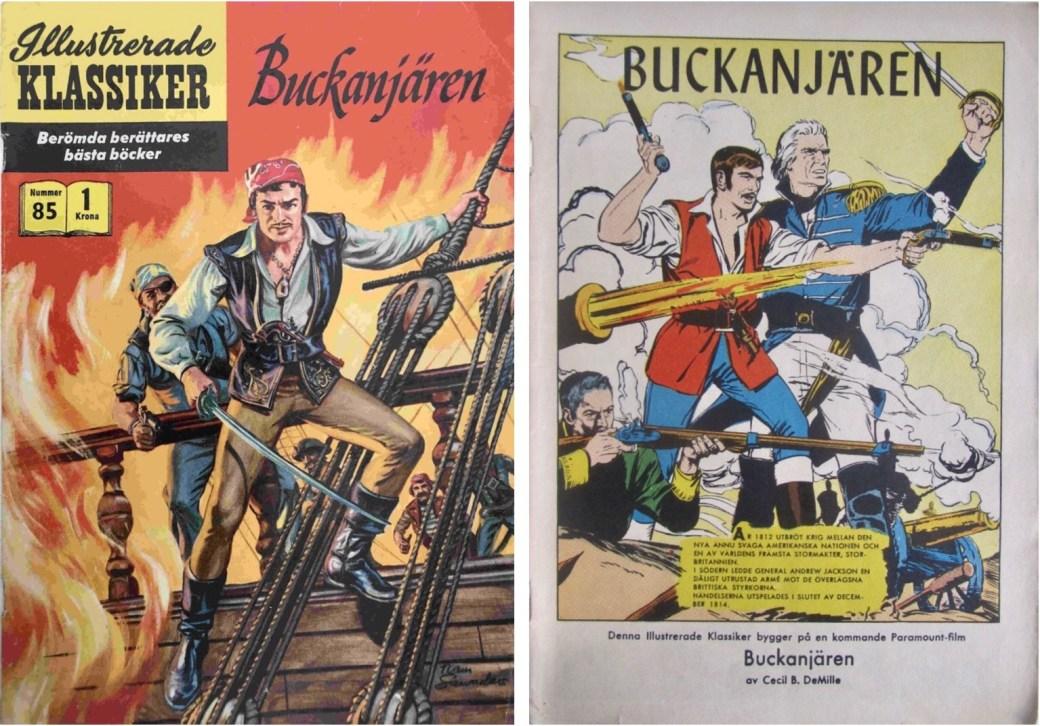 Illustrerade klassiker 81-90: Omslag och förstasida ur IK nr 85. ©IK/Gilberton