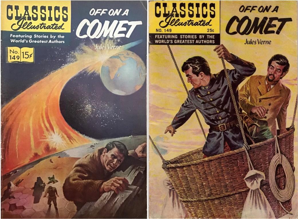 Omslag från 1959 och 1968 till CI #149. ©Gilberton
