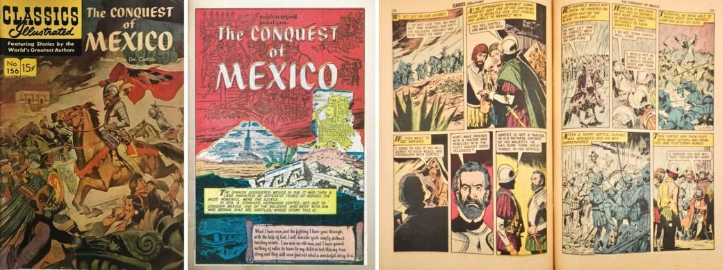 Omslag, förstasida och ett uppslag ur CI #156. ©Gilberton