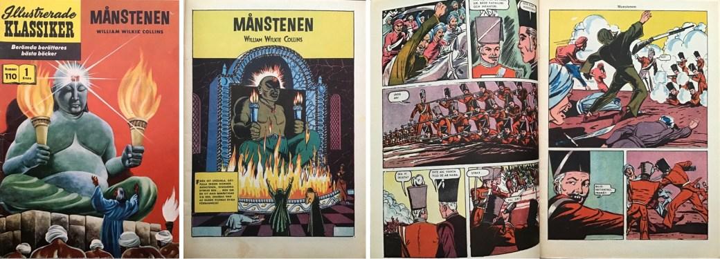 Omslag, förstasida och ett uppslag ur IK nr 110. ©IK/Gilberton
