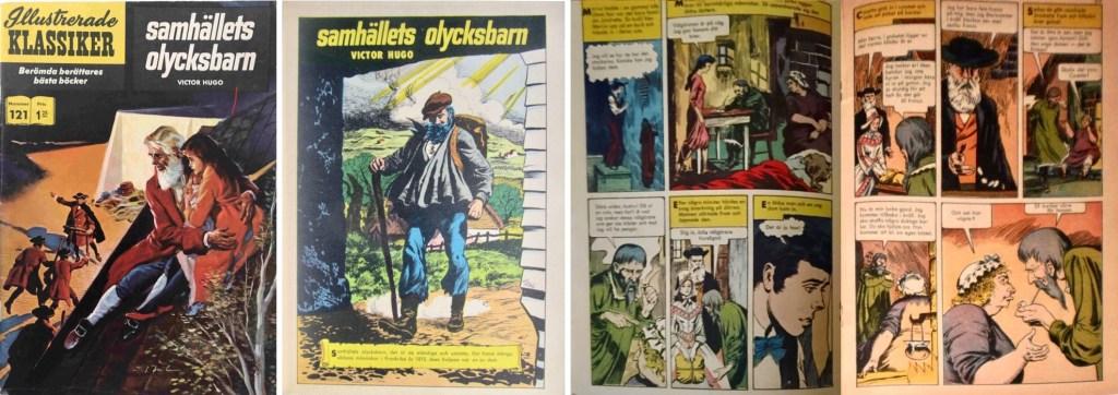 Omslag, förstasida och mittuppslaget ur IK nr 121. ©IK/Gilberton