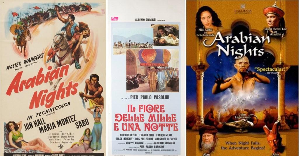 Filmaffischer från 1942 och 1974, och tv-serie från 2000. ©Universal/AA/Hallmark