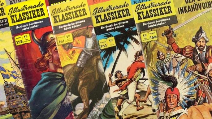 Illustrerade klassiker på 60-talet
