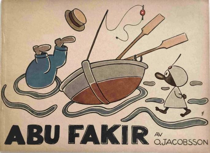 Jacobsson tecknade även Abu Fakir. ©W&W