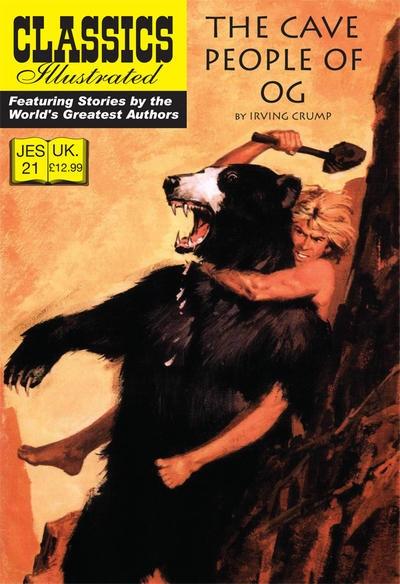 Omslag till Classics Illustrated (JES) No. 21. ©JES
