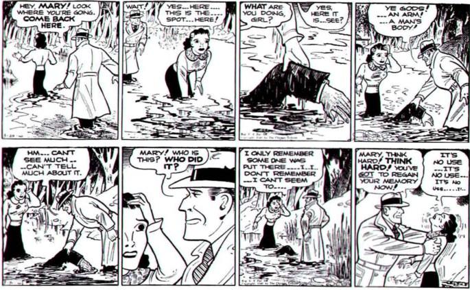 Dagsstripparna från 29-30 mars 1940.