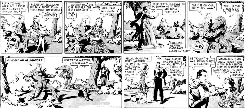 Dagsstripparna 15-16 augusti 1938. ©KFS