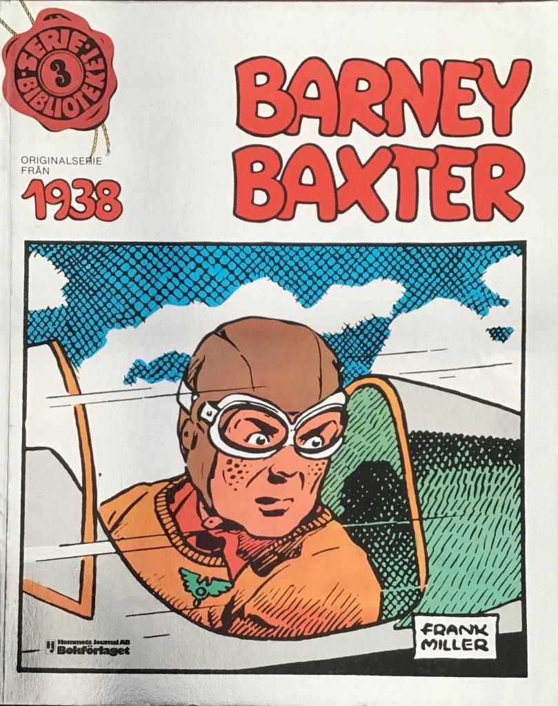 Omslag till Barney Baxter, till Seriebiblioteket (Hemmets Journal) nr 3