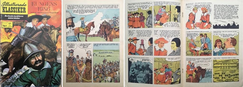 Omslag, förstasida och ett uppslag ur IK nr 161. ©IK/T&P