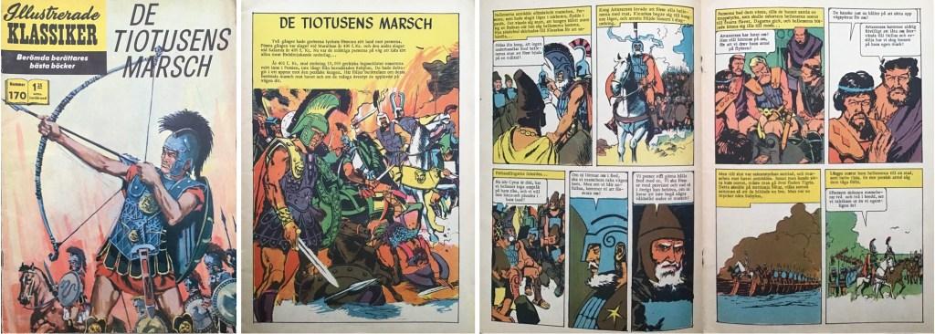 Omslag, förstasida och mittuppslag ur IK nr 170. ©IK/JES