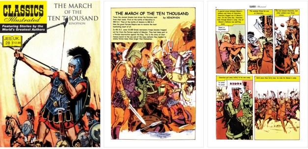 Omslag till JES 28, förstasida och en sida ur inlagan. ©JES