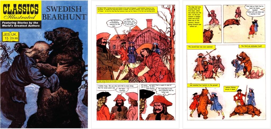 Omslag, förstasida och en sida ur inlagan ur JES No. 15. ©JES