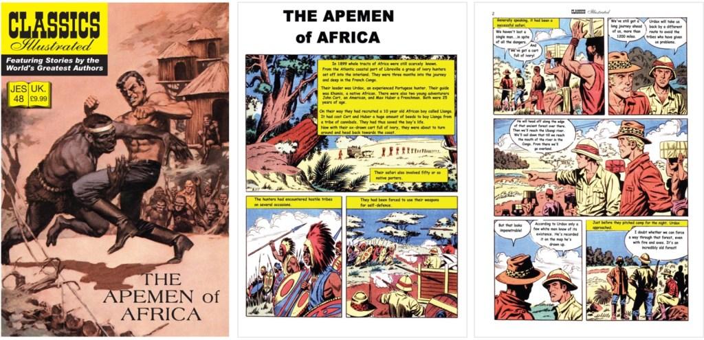 Omslag och inledande sidor ur inlagan ur JES No. 48. ©IK/JES