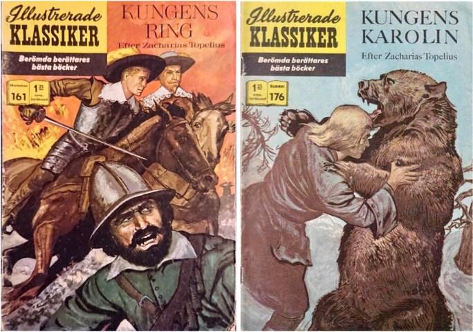 Omslag till Illustrerade klassiker 161 och 176. ©IK