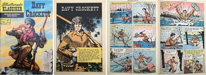 Omslag, förstasida och ett uppslag ur Illustrerade klassiker nr 12. ©IK/Gilberton
