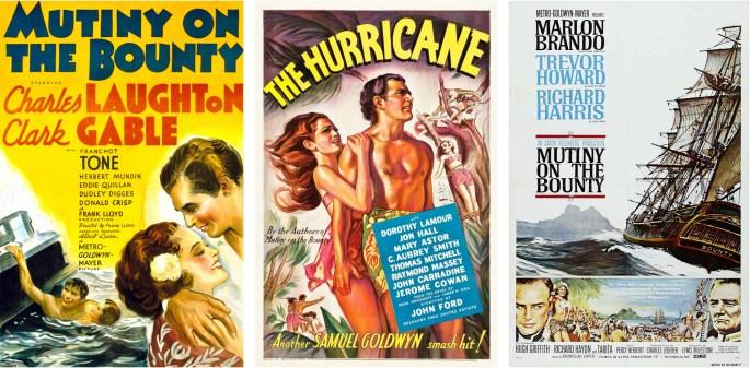 Filmaffischer från 1935, 1937 och 1962.