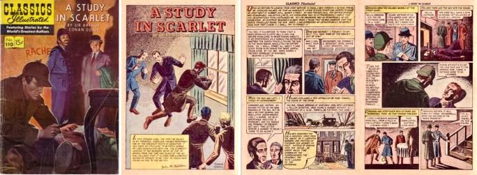 Serien i Classics Illustrated #110 var tecknad av Seymour Moskovitz.