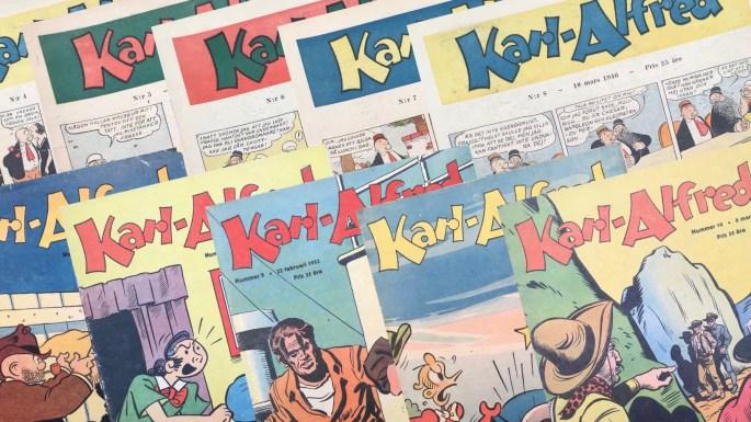 Rogers Seriemagasin: Serietidningen Karl-Alfred
