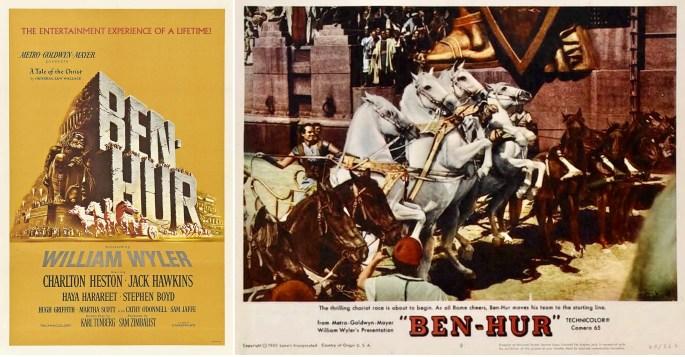 Filmaffisch och reklammaterial från filmatiseringen 1959. ©MGM