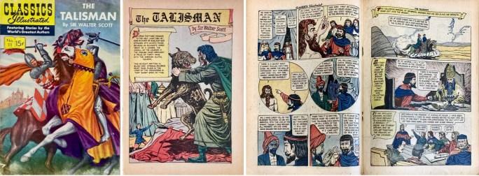 Omslag, förstasida och mittuppslag ur CI #111 (1953). ©Gilberton