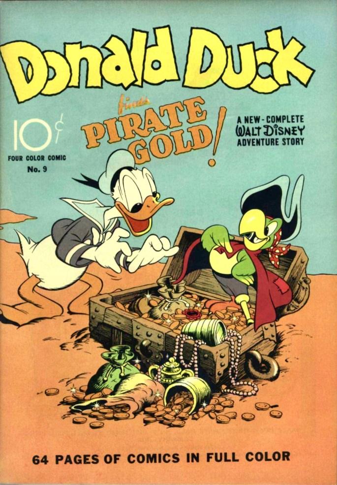 Omslag till Four Color #9 (första serien). ©Dell/Disney