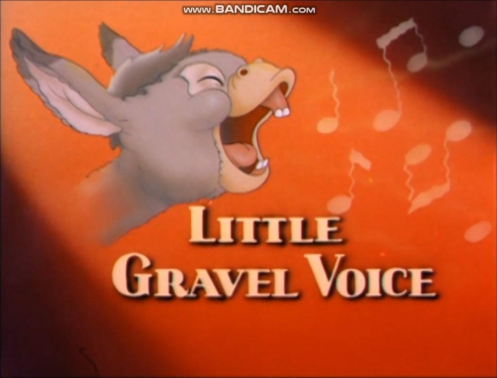 "En namnlös Benny i ""Little Gravel Voice"" (1942). ©MGM"