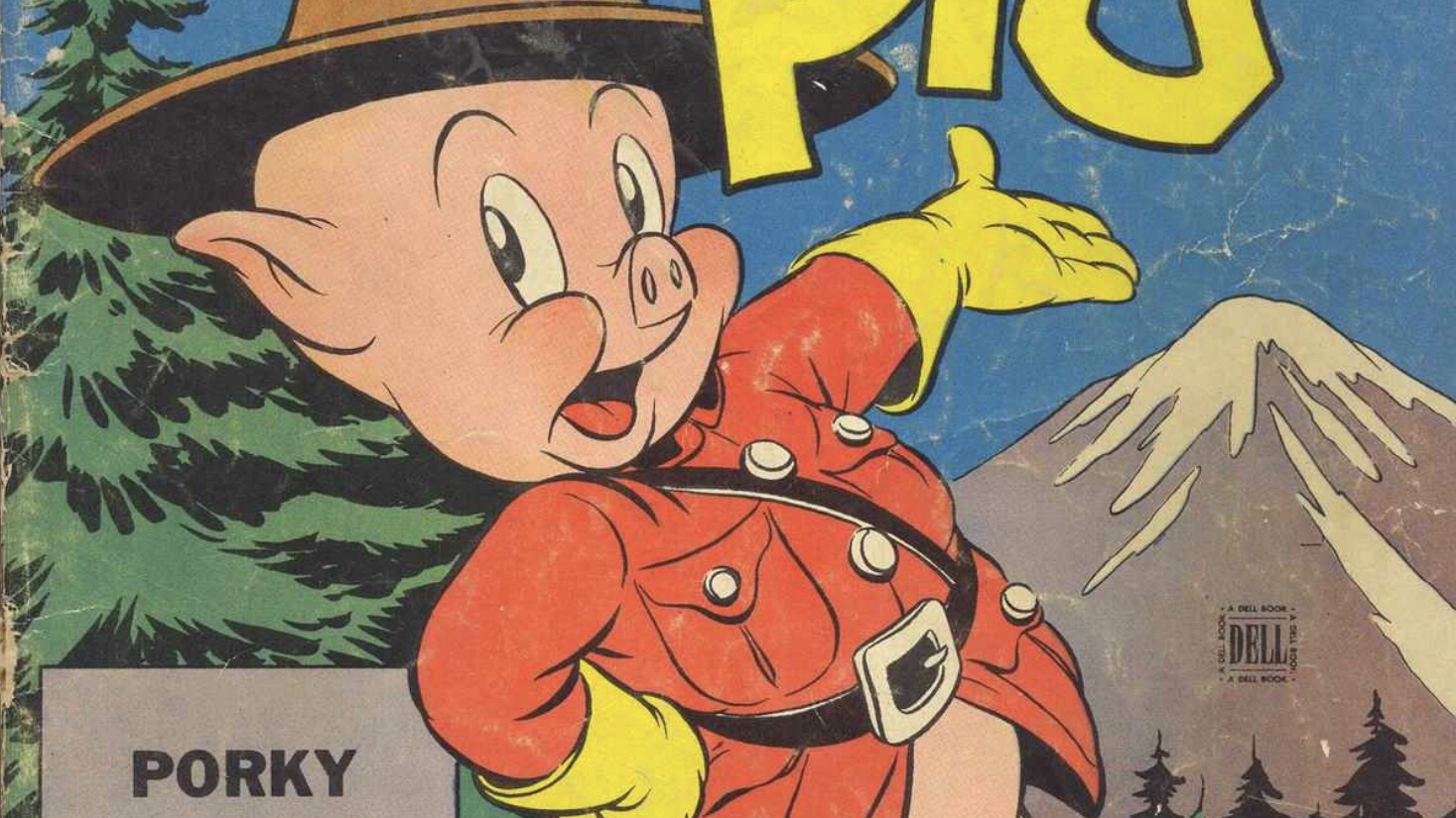 Porky Pig of the Royal Mounties