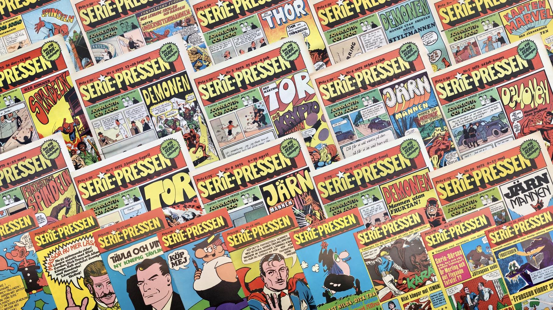 Seriepressen 1971-72