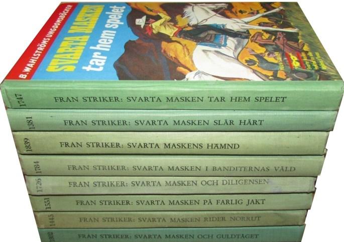 Svarta masken som en del av B. Wahlströms Ungdomsböcker