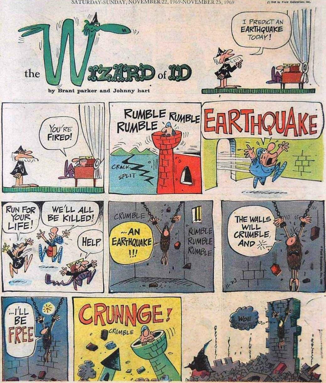 Motsvarande söndagssida i original. ©Field