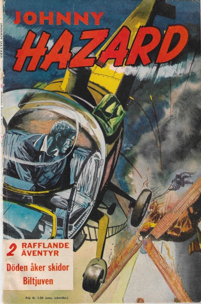 Omslag till Johnny Hazard (1960). ©Å&Å