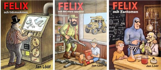 Seriealbum, med Felix i färg. ©Kartago