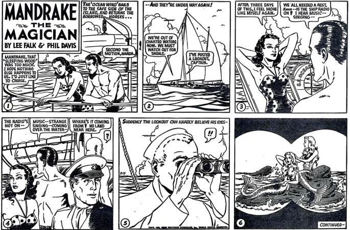 Liggande söndagssida i original från 13 februari 1955. ©KFS