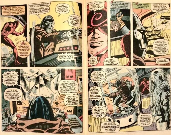 Ett uppslag ur Daredevil #84. ©Marvel