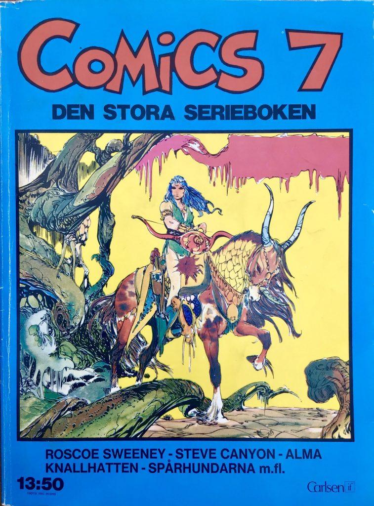 Omslag till Comics, den stora serieboken, nr 7. ©Carlsen/if