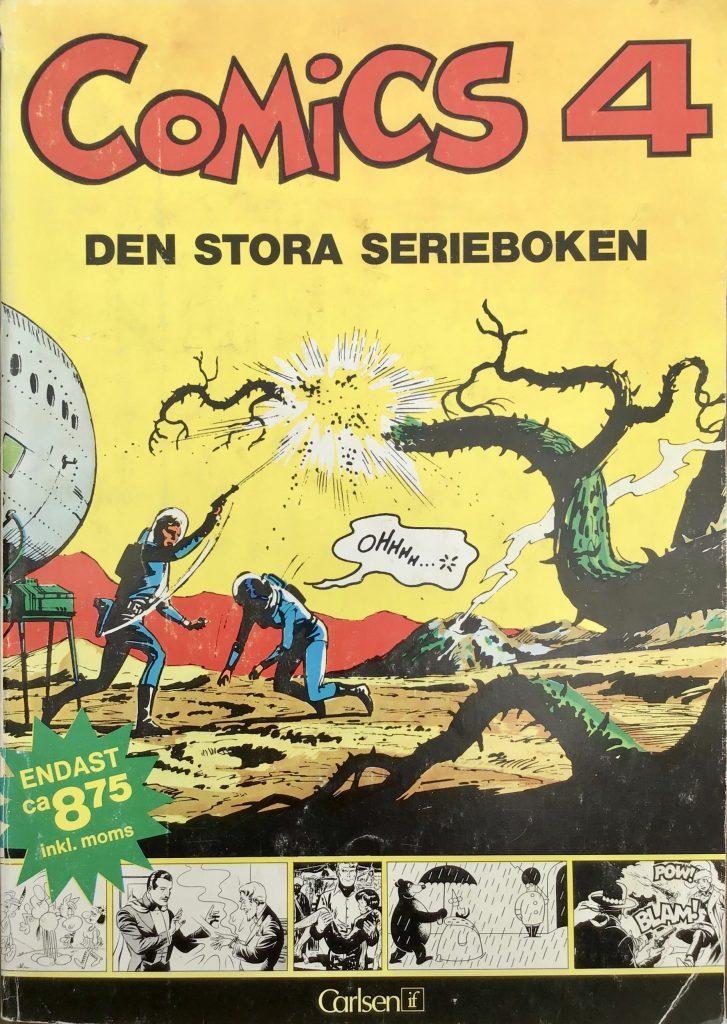 Omslag till Comics, den stora serieboken, nr 4. ©Carlsen/if