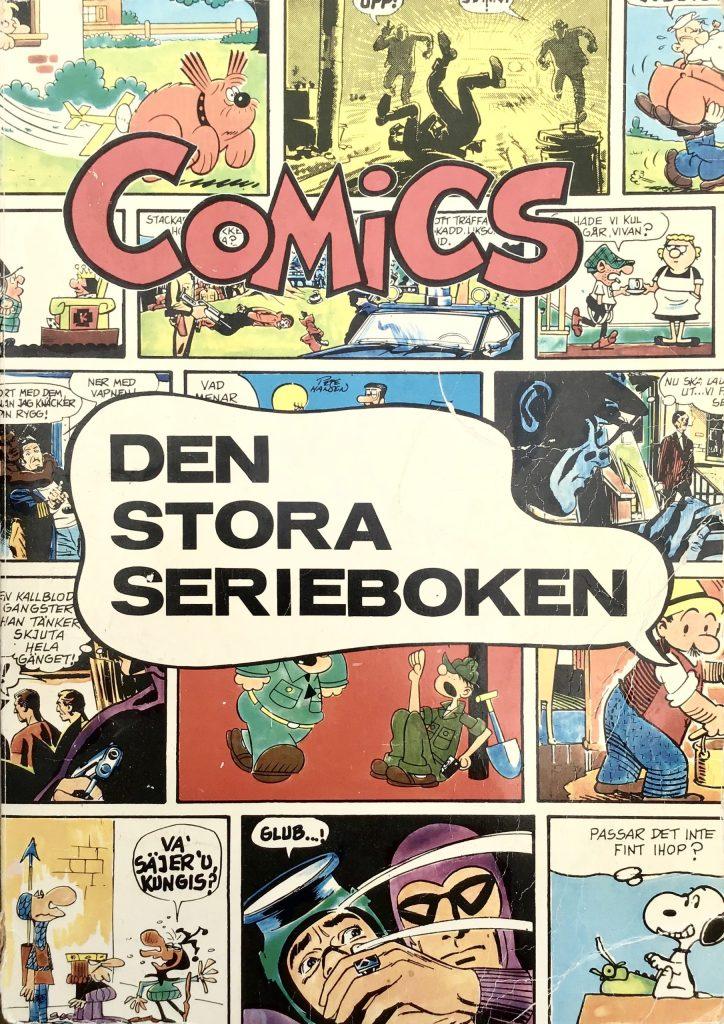 Omslag till Comics, den stora serieboken, nr 1. ©Illustrationsförlaget