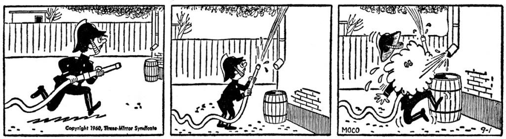 En Alfredo-stripp från 1960, som dock i USA hette MoCo. ©Times-Mirror