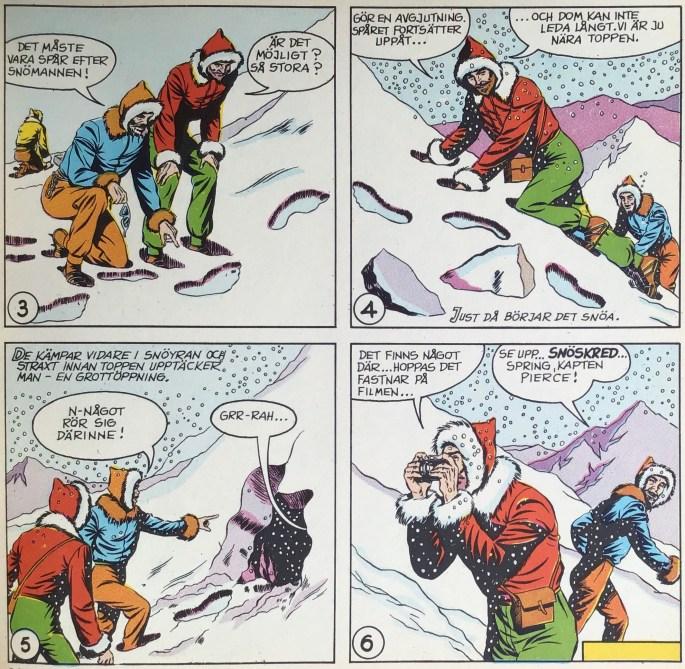 Inledande sida med Mandrake ur Comics nr 2. ©KFS